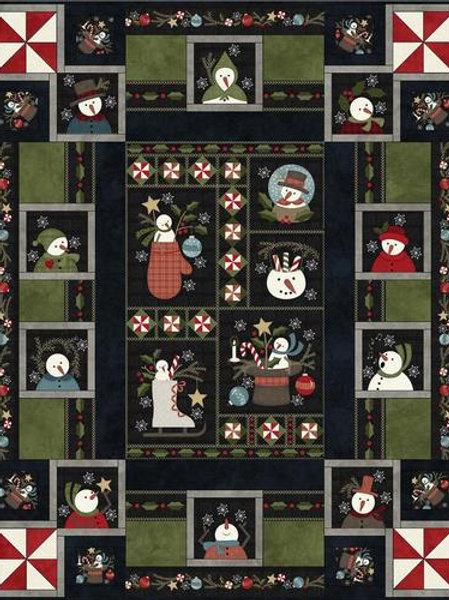 Snow Days Flannel Quilt Kit