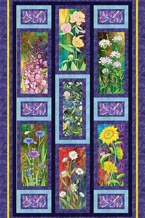 Flower Jewel Quilt Kit