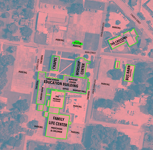 Arial View of Campus - GoogleEarth 2020