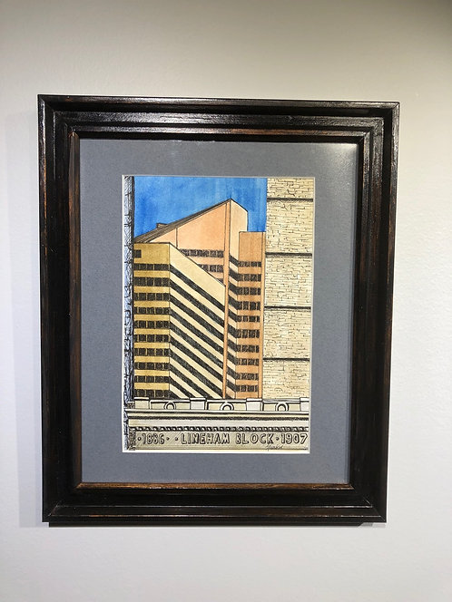 Cityscape - Calgary - Annette Henbid