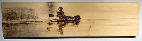 Kayak - Solitary Journey - Annette Henbid