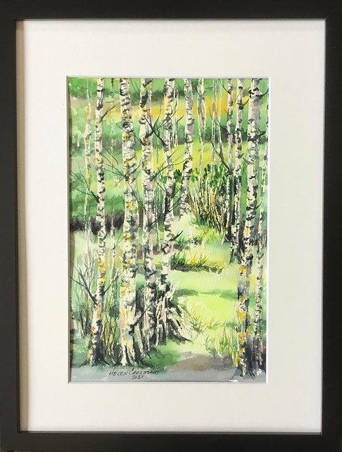 A Meadow Walk - Helen Croissant