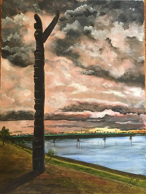 """Spirit of Eaglechild"" - Mary McLeod"