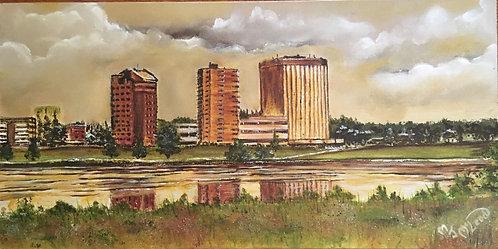 """""""City Skyline"""" - Mary McLeod"""