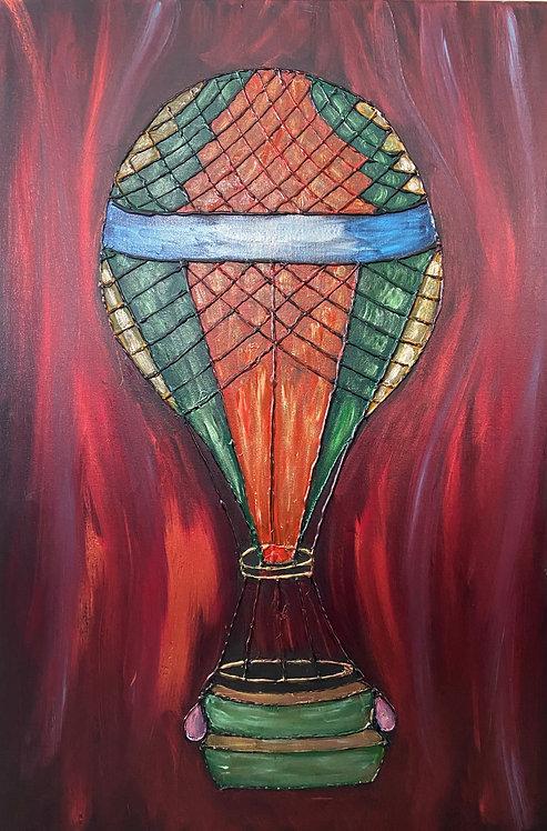 Hot Air Balloon - Kim Morrall