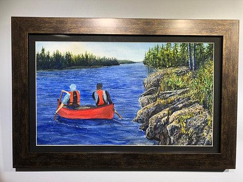Canoe Trip - Annette Henbid