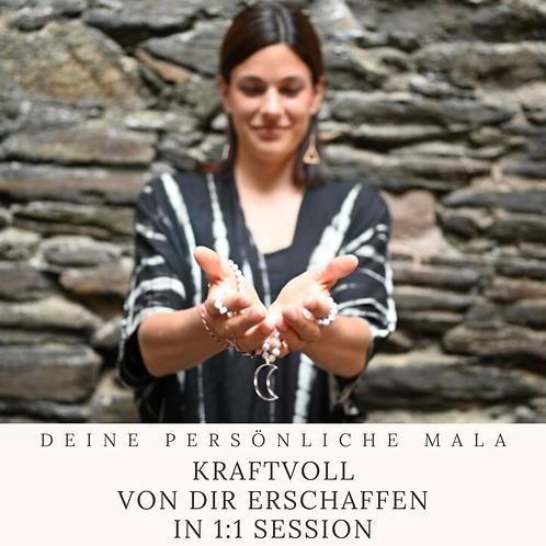 Gemeinsam Erschaffen - Deine ganz persönliche 60min 1:1 Yoga & Mala Session