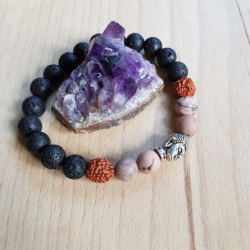 Buddha Armband für Ruhe, Klarheit, unterstützt dein Potential