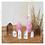 Thumbnail: Große Rosenquarz Spitze für liebevolle Energie, Selbstliebe, Wertschätzung
