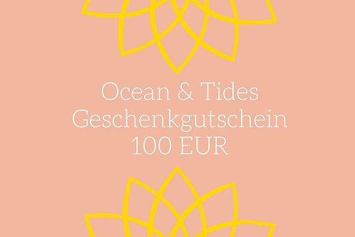 Ocean & Tides Geschenkgutschein im Wert von 100 EUR