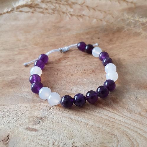 Armband für inneren Frieden, klare Gedanken, Intuition & Spiritualität