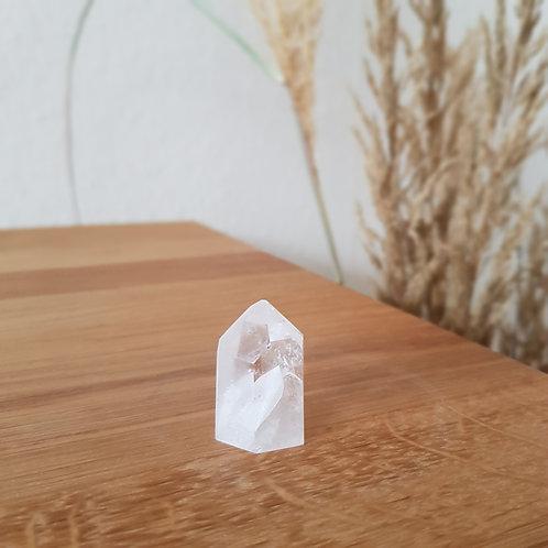 Bergkristall Kristallspitze für mehr Klarheit, Intuition, Bewusstheit
