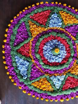 Flower Mandala Yogateacher Training
