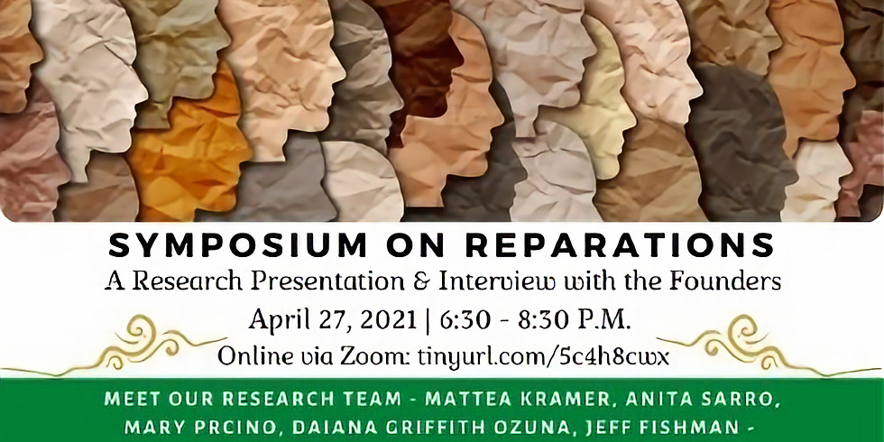 Symposium On Reparations