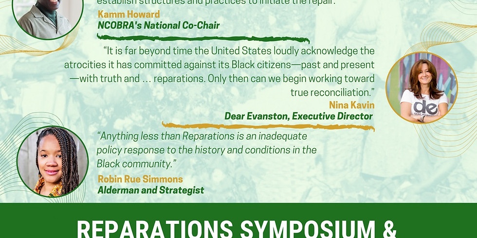 Symposium on Reparations W/Community Dialogue
