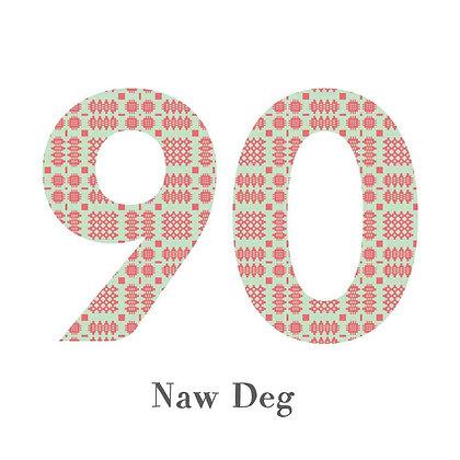 Card - Birthday / Anniversary - Naw Deg - 90 x 6