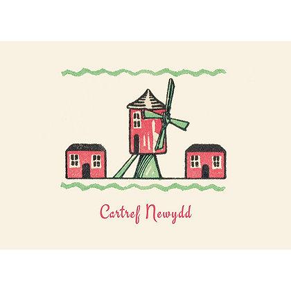 Card - Cartref Newydd - New Home x 6