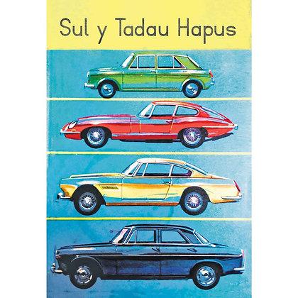 Card - Father's Day - Sul y Tadau Hapus - Cars x 6