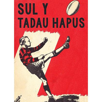 Card - Father's Day - Sul y Tadau Hapus - Rugby x 6