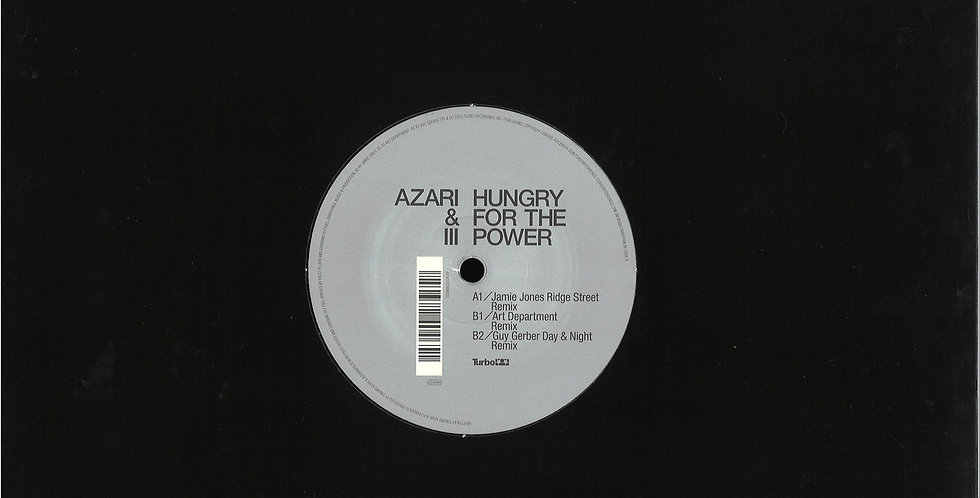 Azari & III - Hungry For The Power Remixes (TURBO103)