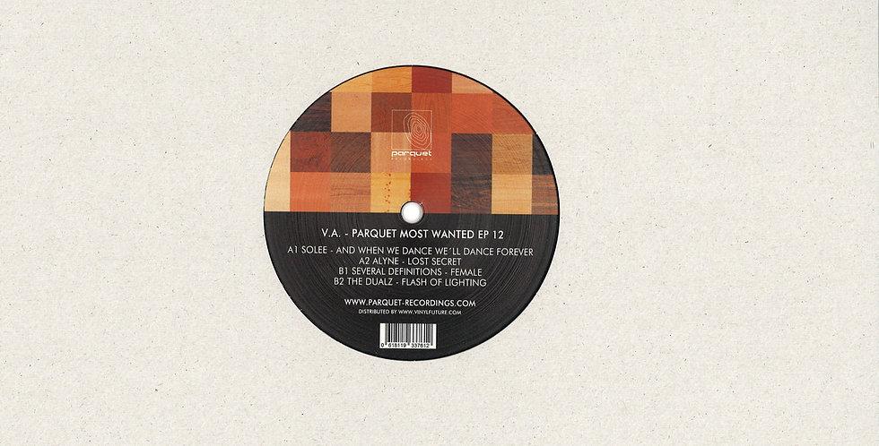 VA - Parquet Most Wanted Ep 12 (PARQUETSPECIAL013)