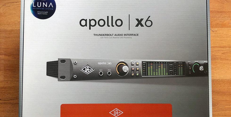 UA Apollo x6