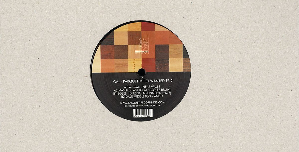 VA - Parquet Most Wanted Ep 2 (PARQUETSPECIAL003)