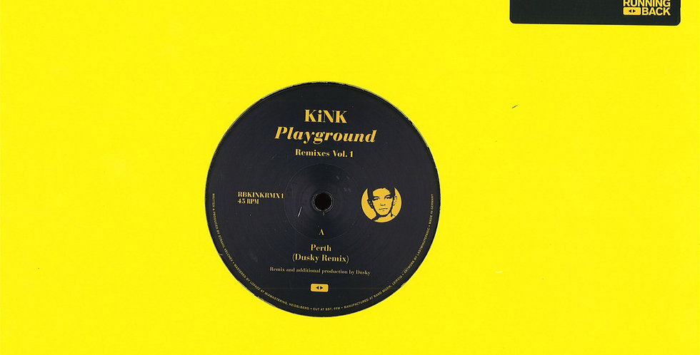 Kink - Playground Remixes Vol. 1 (RBKINKRMX1)
