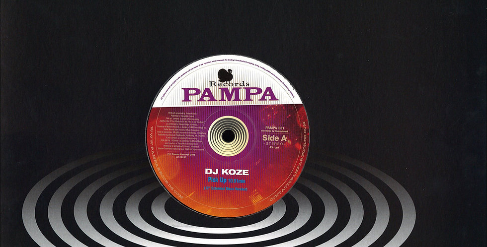 Dj Koze - Pick Up (PAMPA031)
