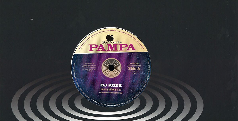 Dj Koze - Seeing Aliens (Pampa 030)