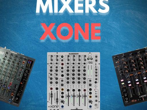 Todo sobre mixers Xone