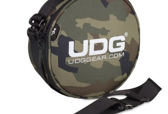 UDG Ultimate Digi headphone bag black camo