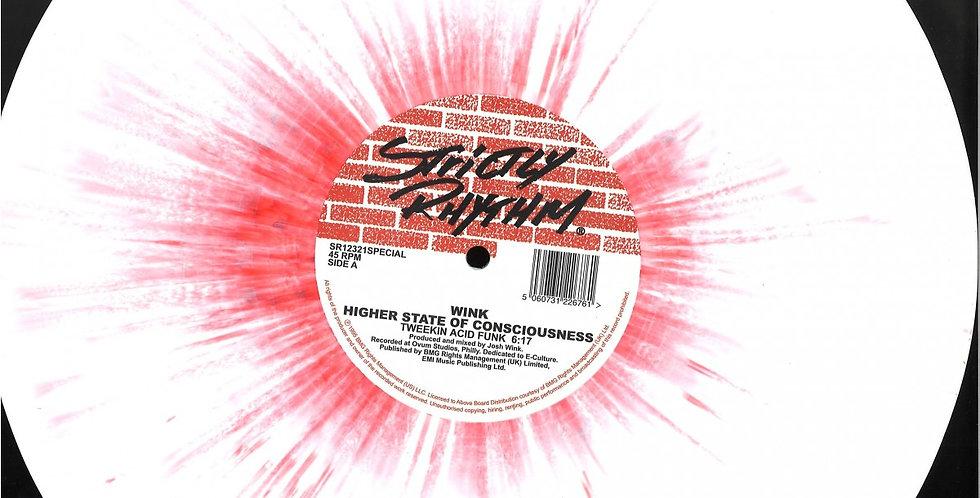 Wink - Higher State Of Conscioness (Red / White Splatter Vinyl) (SR12321SPECIAL)