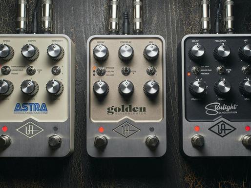 Nuevos pedales Universal Audio