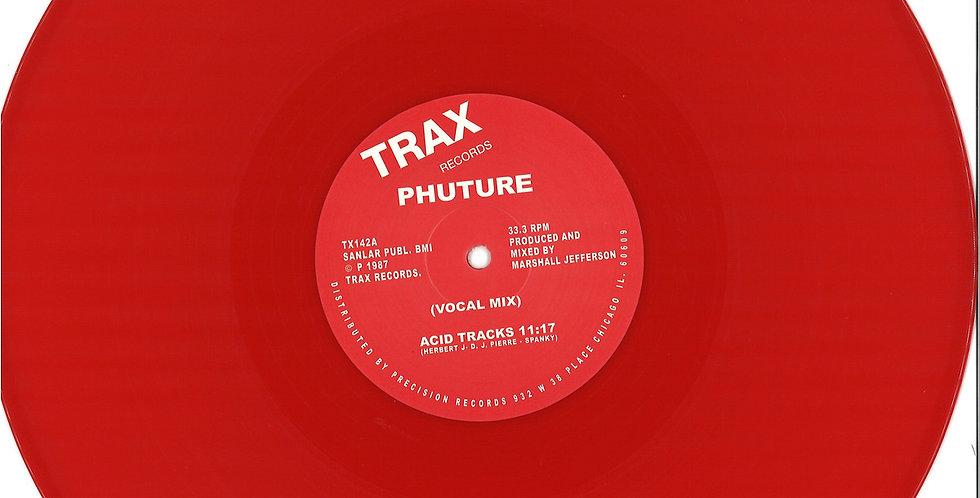 Phuture - Acid Tracks (Red Vinyl Repress!)