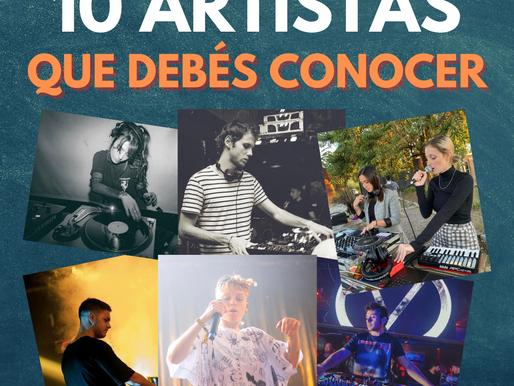 10 artistas que debés conocer