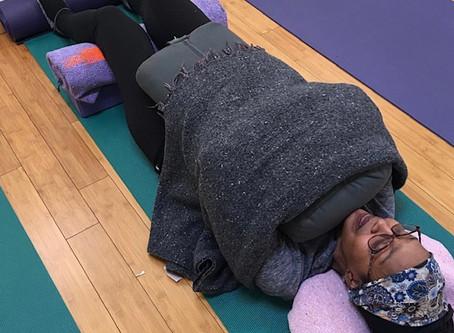 Monthly Restorative Yoga Fundraiser