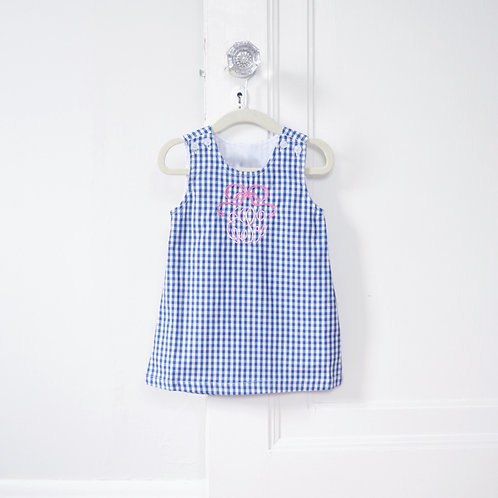 Navy Gingham Jumper