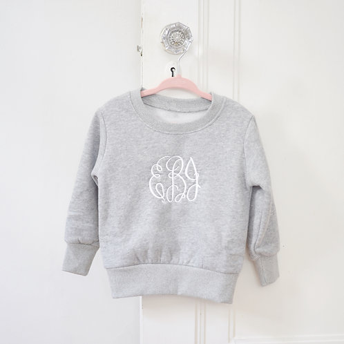 Girls Crew Neck Sweatshirt