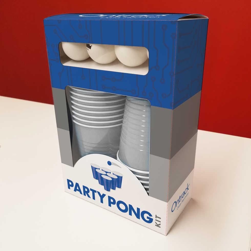 Party Pong Custom Packaging