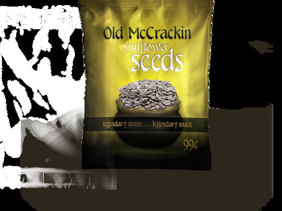Old McCrackin Sunflower Seeds