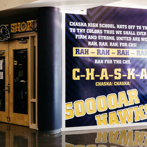 Chaska High School Environmental Branding