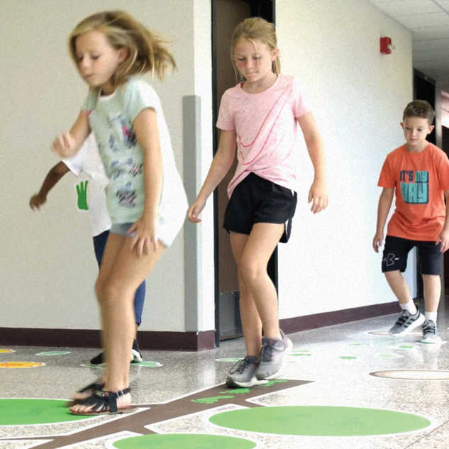 Forest Hill's Sensory Path
