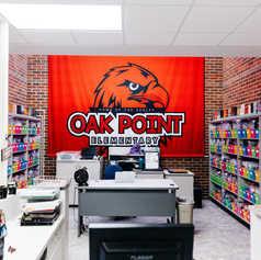 Oak Point Elementary School Environmental Branding