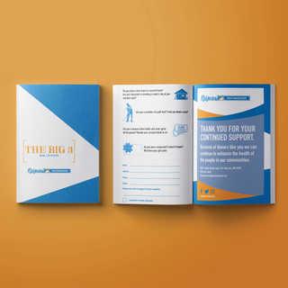 "Ridgeview Foundation's ""Big 3"" Direct Mailer Brochure"