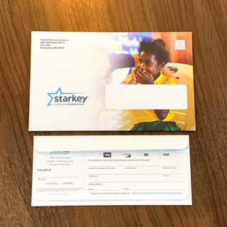 Starkey Year End Appeal Direct Mailer