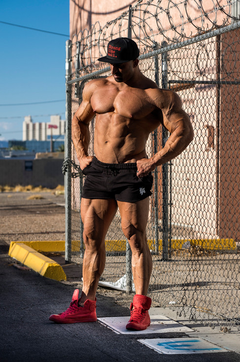 Mike bodybuilder and personal trainer.