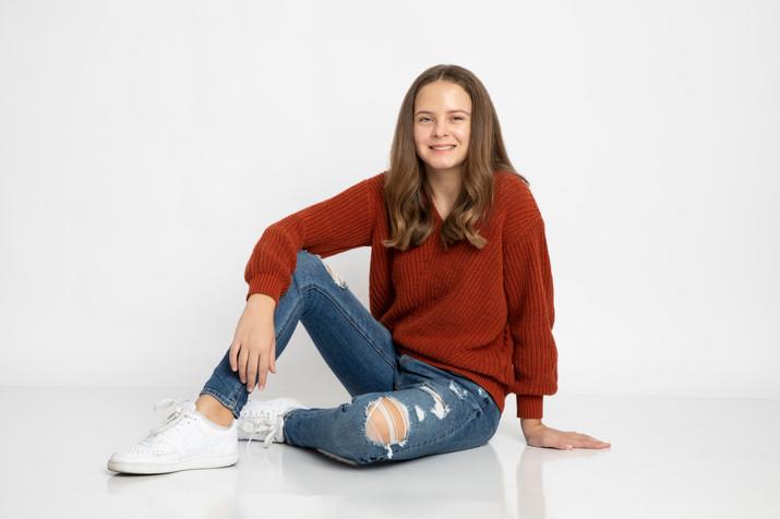 Teen modeling portfolio.