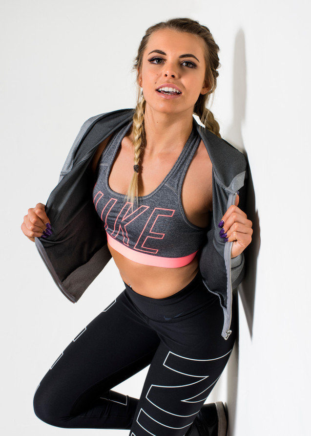 Fitness portfolio shoot with Jessica.