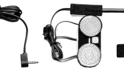 Helm-Headset Jethelm mit Helmsprechtaste